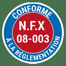 Conforme-NFX-08-00