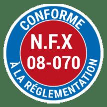 Conforme-NFX-08-070