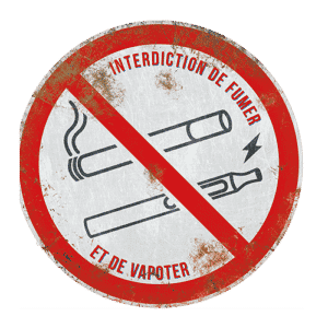 Interdiction-fumer-vapoter-metal